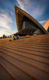 Steps of the Opera House - colour