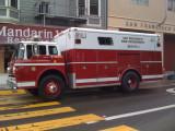 San Francisco Fire Dept Rescue Truck