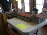 HO scale San Bernardino Station Model by Gary Cane