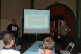 Paul Ellis and Craig Walker of Athearn deliver their presentation.
