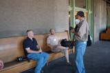 Tim Frederick, Chad Hewitt, and Tim Costello (standing)
