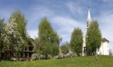 Church and farmer house on Dottenberg (Adligenswil) LU