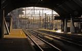 Railway-station in Zurich