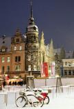 Dresden in snow