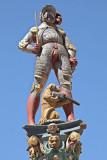 Fountain figure in La Neuveville