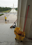 Cleaning the Monuments