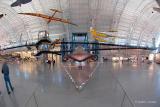 The SR-71 Exhibit in the Aviation Hanger