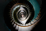 Phare d'Eckmühl, Staircase