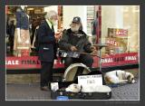 One Dollar One Man Band and Listener