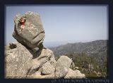 Corse, Granite Rocks in the Region of l'Ospedale