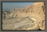 Deir el Bahri with mortuary temples of Hatshepsut, Thutmose III and Mentuhotep II