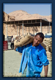 Worker in the Valley of the Kings