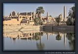 Temple of Karnak, Sacred Lake in the Morning Sun