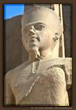 Statue of the God Amun at Karnak