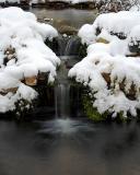 Snowy Waterfall