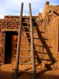Acoma Pueblo Ladder and Door