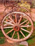 Hubbell Trading Post Wagon Wheels