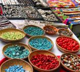 Beads Jewelery and Scarves
