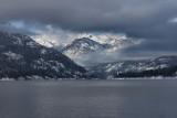 1Looking Up Lake Chelan toward Snowcapped Cascade Peaks.jpg