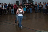 Davis & Claudia Lindy Hop Demo at Swing City, 17 October 2009