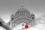 St Sava Temple, Belgrade, Serbia-Reflection