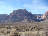 Way to Lee Canyon, Las Vegas Area