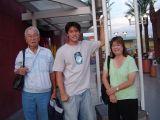 Vegas-after a big dinner at Makino Chaya Buffet Restaurant