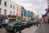 on the way to portobello market, london