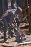 Metalworker in Training