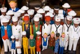 Wooden Colonial Figures