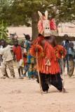 Dogon Dancer in Rabbit Mask