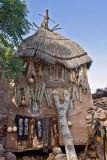 Decorated Dogon Granary