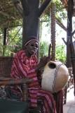 Man Playing a Kora
