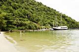 Tropical island cruise