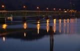 Morning Light on The Hood River Bridge