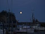 Moon Set in La Push