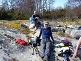 Bengt  längst bort  och Lars-Åke närmast   Foto Anita
