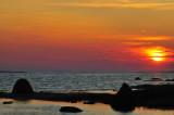 Solnedgång på Yxskär