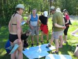 Grupp Åland- Finland med Roffe, Urban och Ulf som ledare