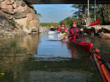 Här passerades en del kanaler och ett antal kulturkvartar klarades av.