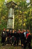 Gruppen samlad vid Birger Jarls gamla fundament, Italienarna skulle bara veta var deras marmorpelare hamnat...