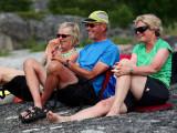 Agnetha, Ulf & Kerstin på första parkett