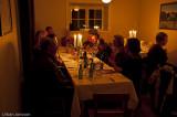 Trevligt kring bordet.