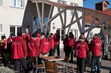 De röda samlas vid Högbo bruk