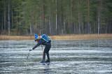 Ops!! mer vatten än is.