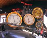 Engineers gauge cluster.