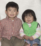 My best friends - Cousins David and Emily