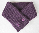 Two-Button Scarf