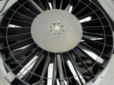 radiator fan close-up