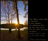 proverb from Thoreau
